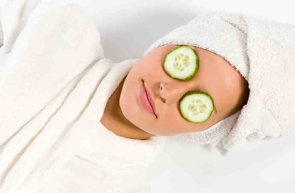 woman-with-cucumber-on-eyes